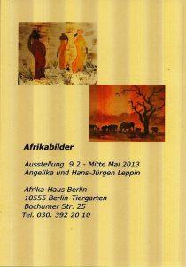 Afrika Haus Ausstellung